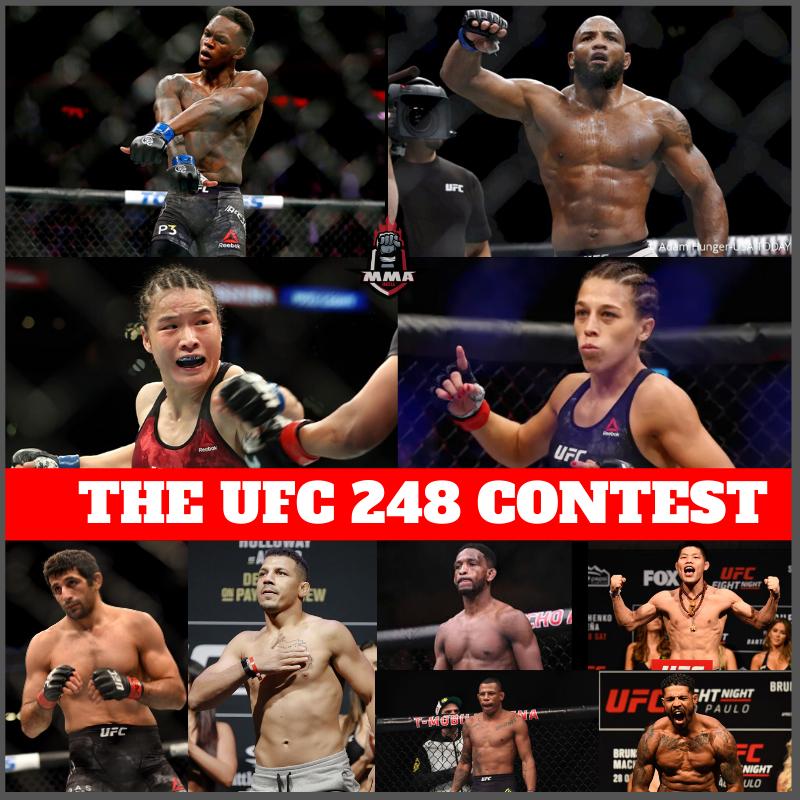 THE UFC 248 CONTEST -