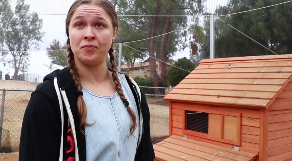 Video: Ronda Rousey proves just how ready she is to deal with the Coronavirus pandemic - Ronda