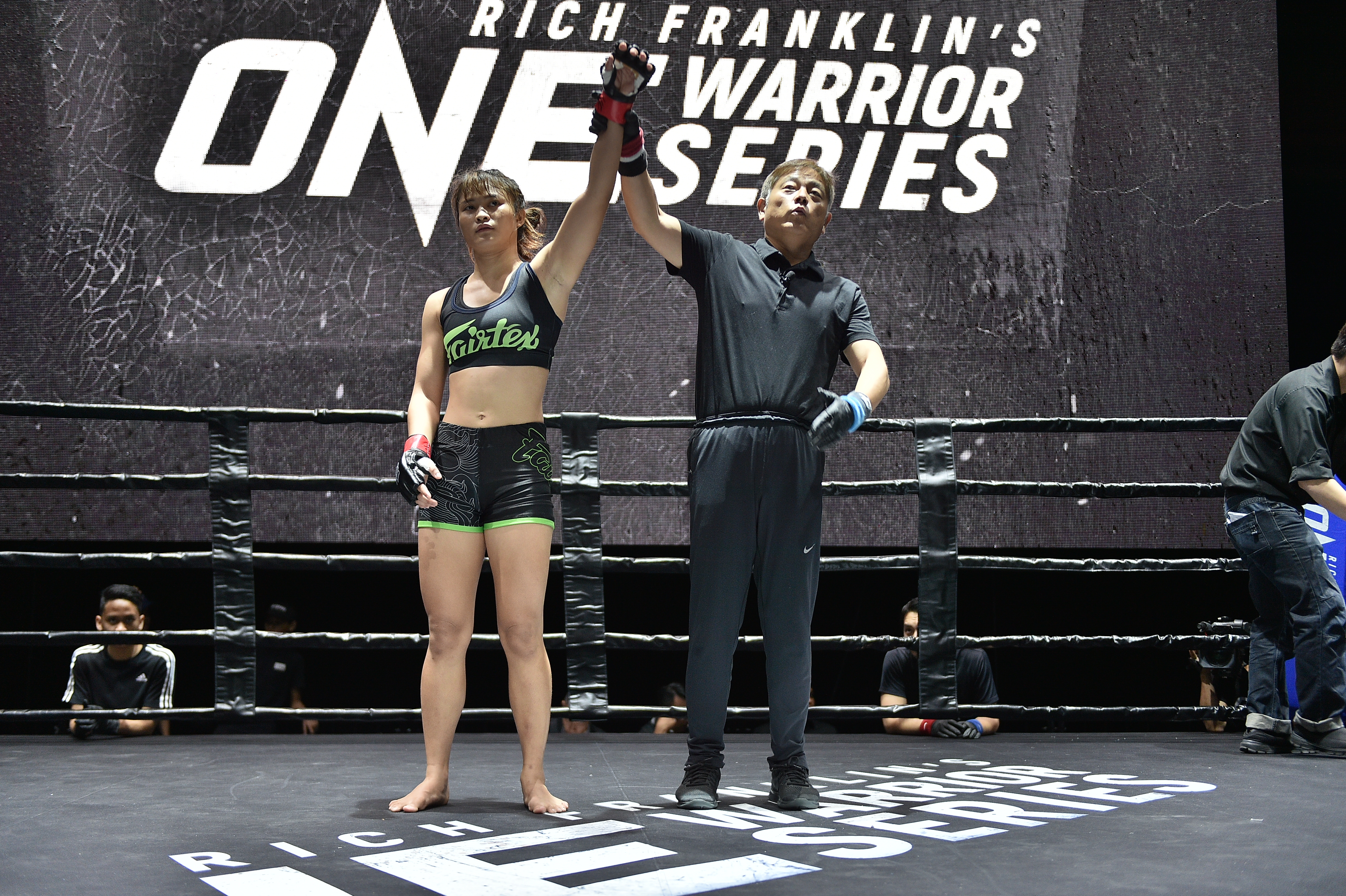 Stamp of Excellence: Sky's the limit for ONE Warrior Series graduate Stamp Fairtex -