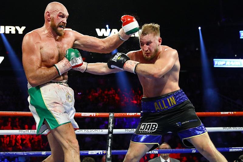 Tyson Fury's former opponent claims he has Coronavirus - Coronavirus
