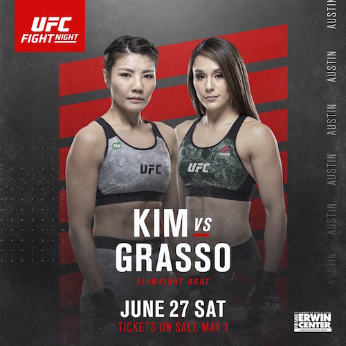 UFC Brasilia schedule change; Kim Ji-Yeon vs Alexa Grasso set for June 27 -