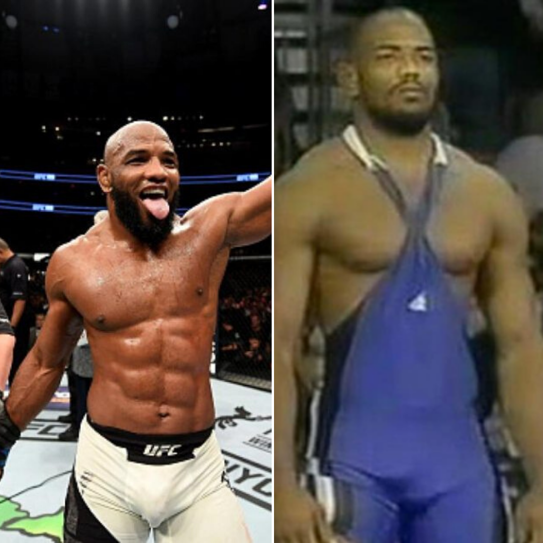 UFC News: Video of Yoel Romero on the wrestling mats before he became a UFC fighter emerges - and it's downright scary! - Yoel Romero