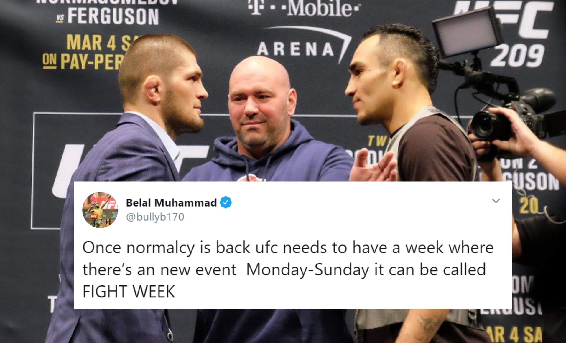 MMA world reacts to UFC events being cancelled due to Coronavirus scare - Coronavirus