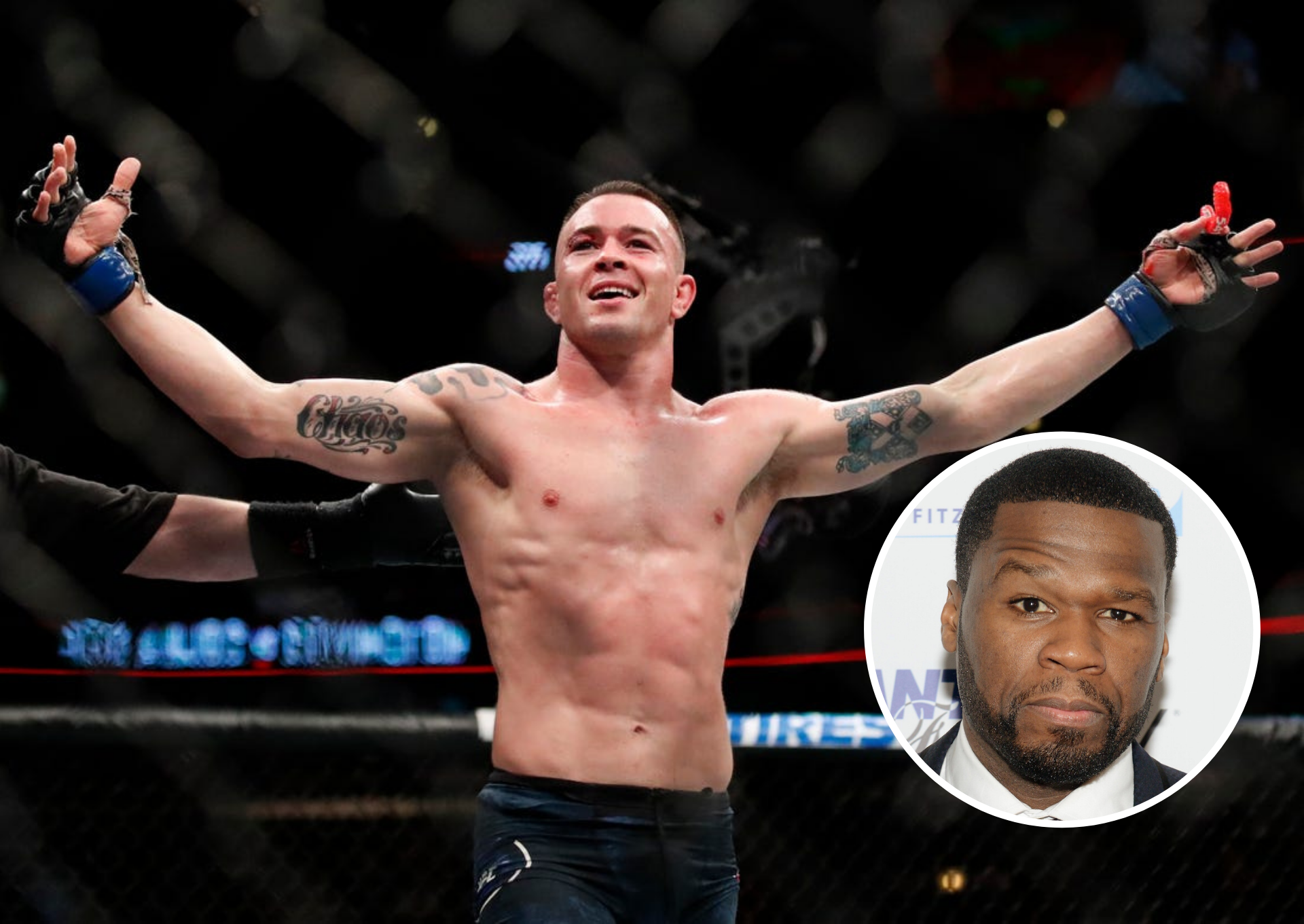 Colby Covington calls out 'little b**tch' 50 cent to a fight after UFC 245 comments - 50 cent