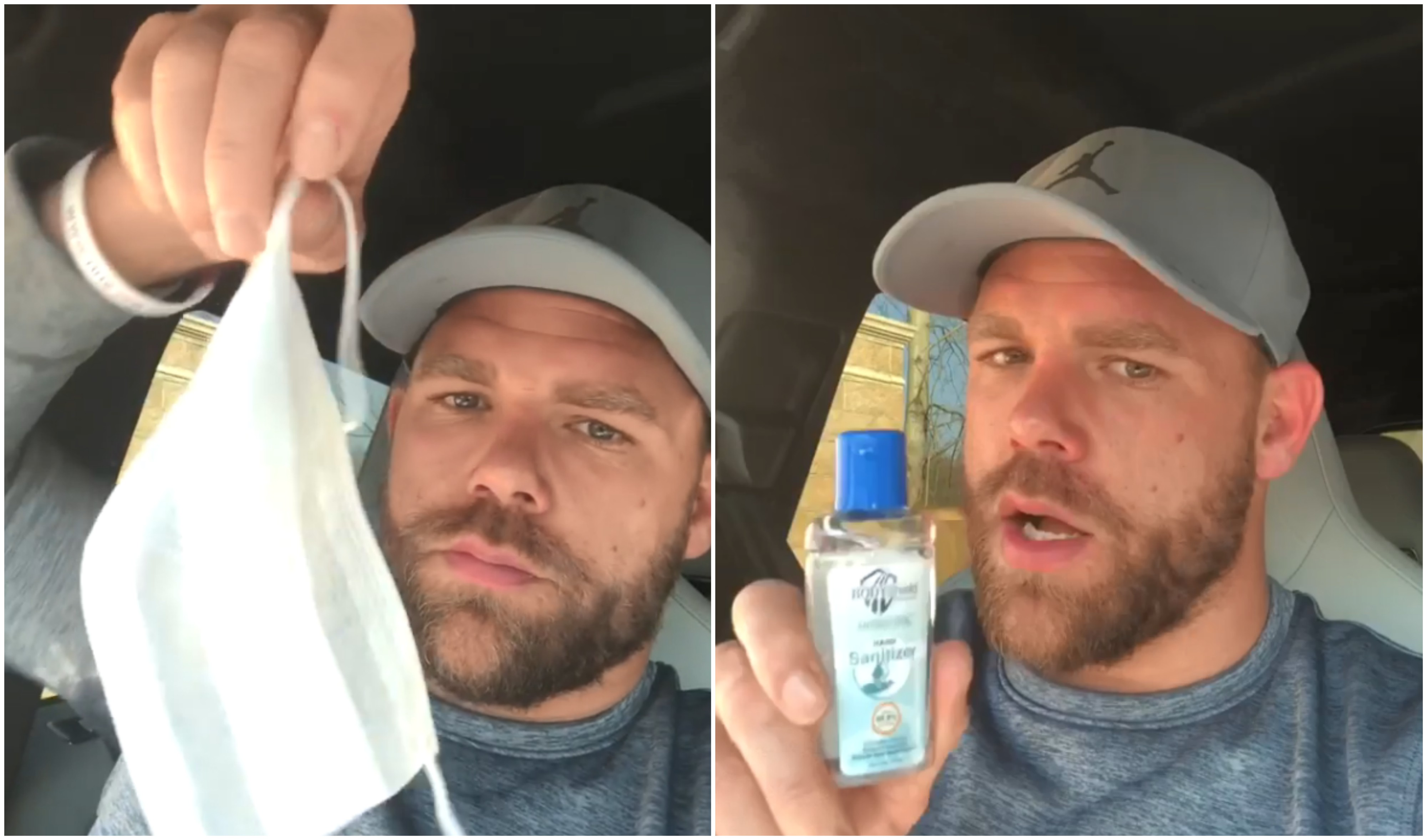 Billy Joe Saunders blasts shopkeeper for selling hand sanitizer and facemasks at exorbitant price - Billy Joe Saunders