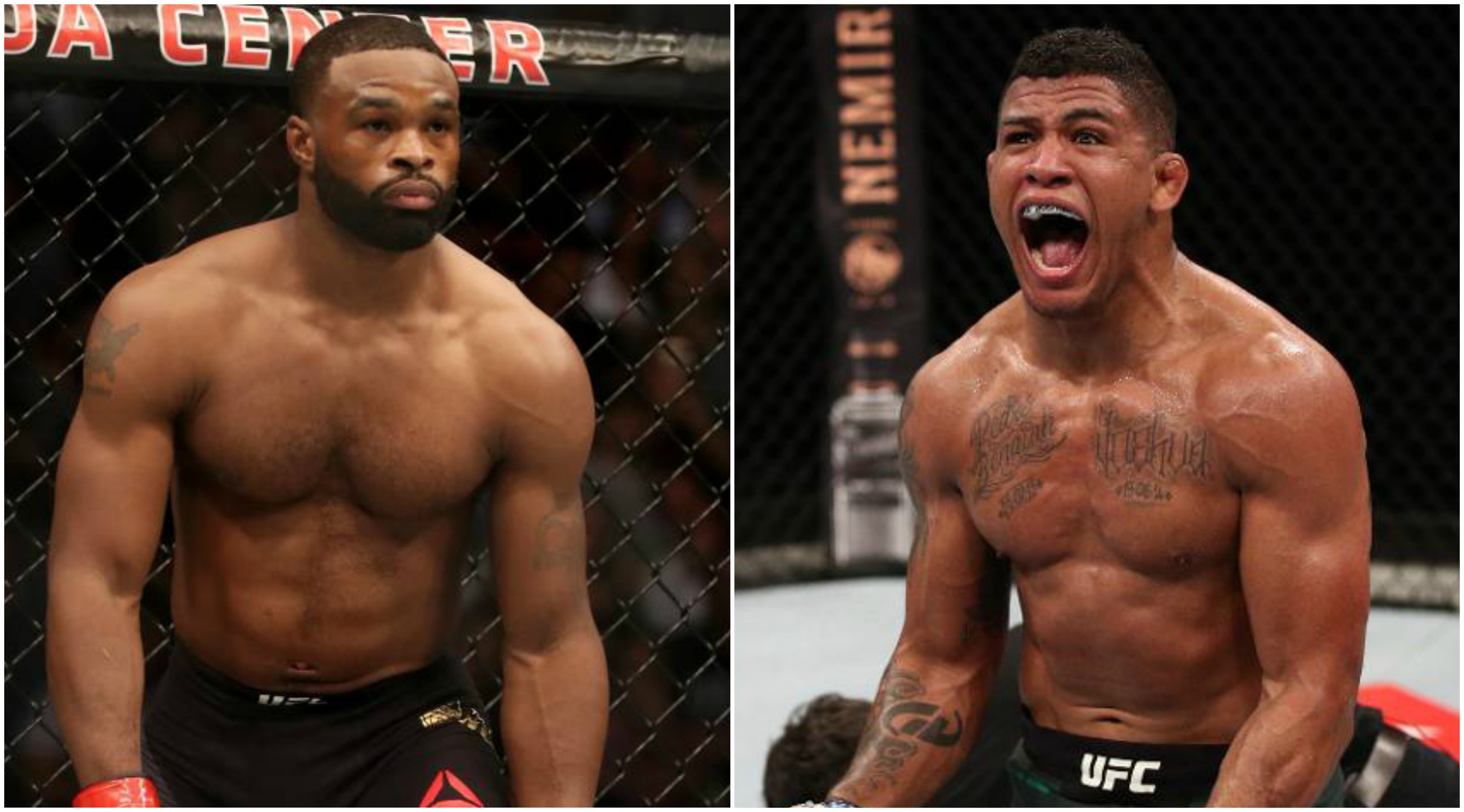 UFC News: Gilbert Burns blasts 'freaking liar' Tyron Woodley, says he would finish him in a fight - Gilbert Burns