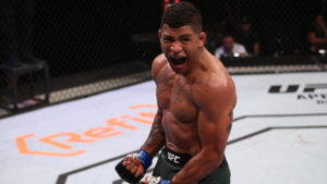 Gilbert Burns, Tyron Woodley, UFC London