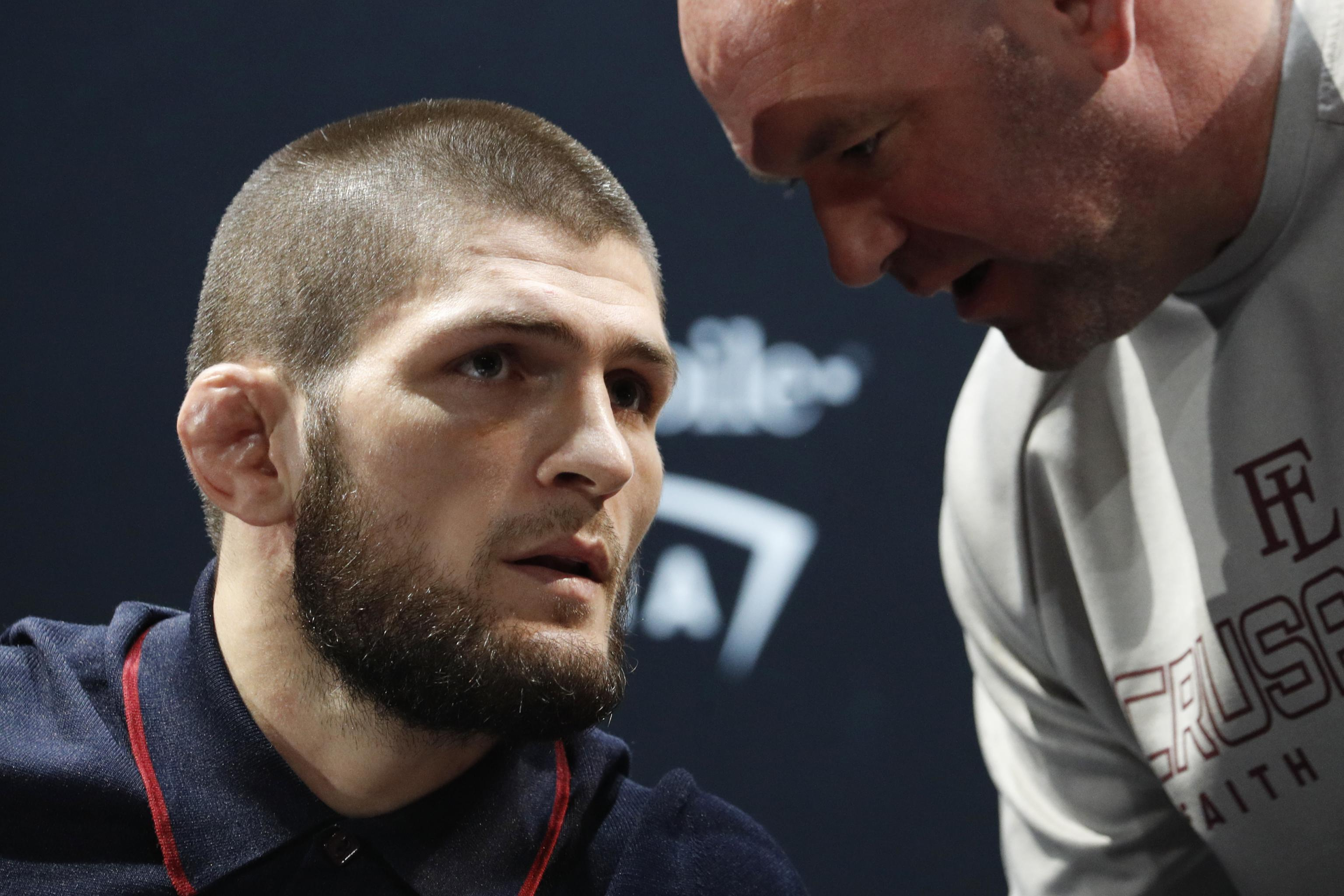 Khabib vs Tony, UFC and Dana White
