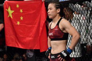 Weili Zhang defeats Joanna Jedrzejczyk