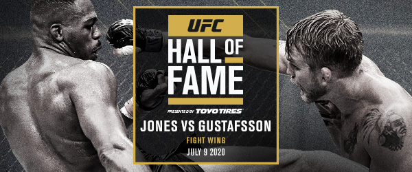 UFC 165 FIGHT BETWEEN JON JONES AND ALEXANDER GUSTAFSSON TO BE INDUCTED INTO UFC HALL OF FAME -