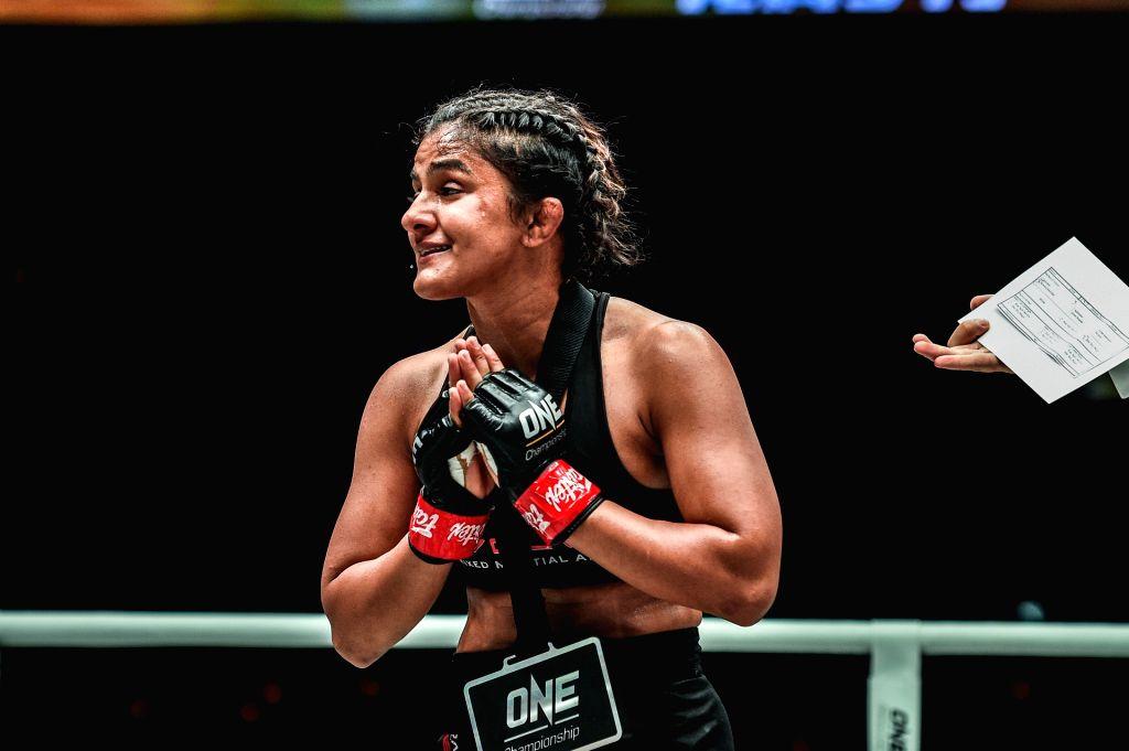 ONE Championship: Ritu Phogat reviews her dominant victory over Wu Chiao Chen - Ritu Phogat