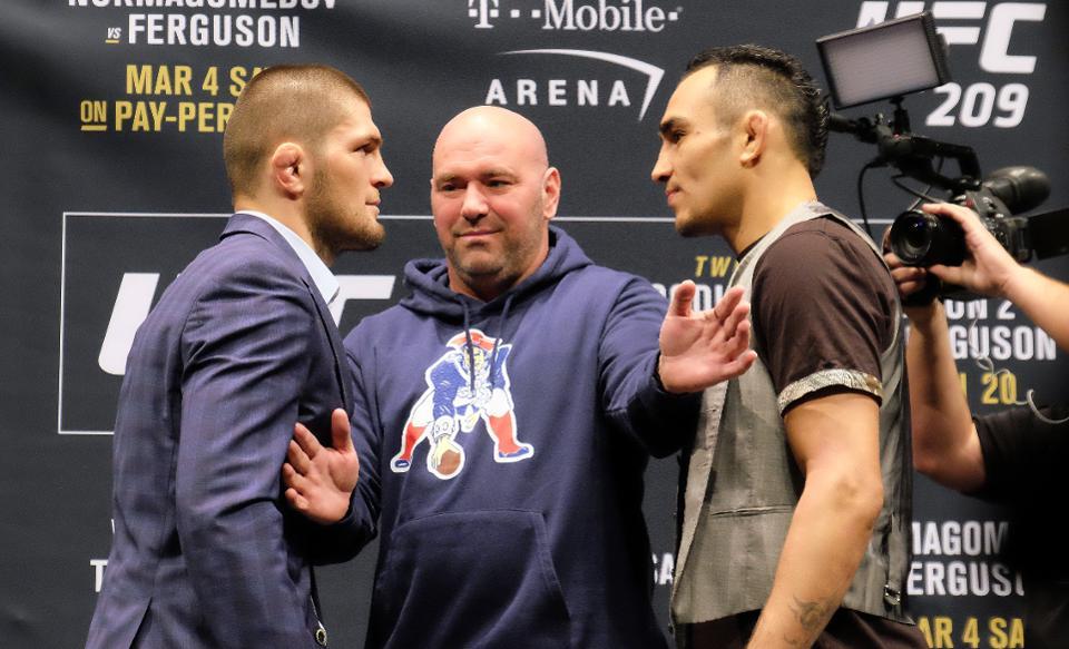 UFC 249, Khabib Nurmagomedov and Tony Ferguson