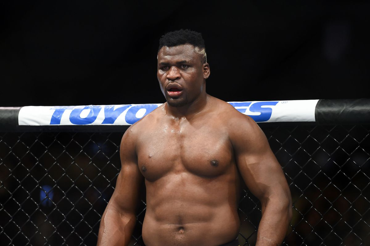 Francis Ngannou says he has been tested for COVID-19 - Francis Ngannou