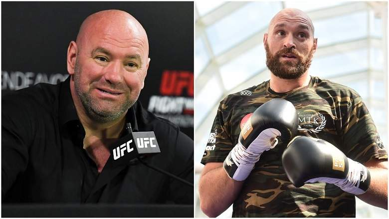 Dana White impressed with Tyson Fury's performance in Deontay Wilder fight - Dana