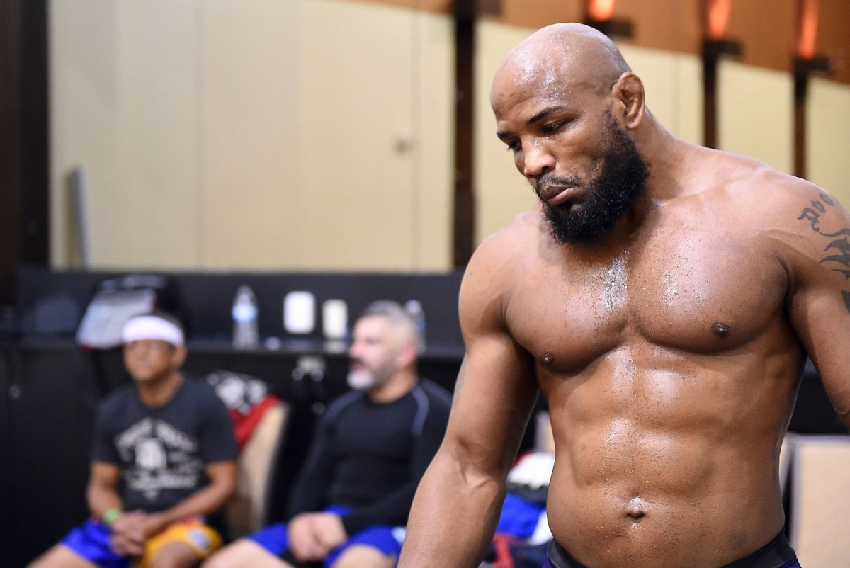 UFC News: Yoel Romero on his 'training weight' and reveals why LHW move is ruled out - Yoel Romero