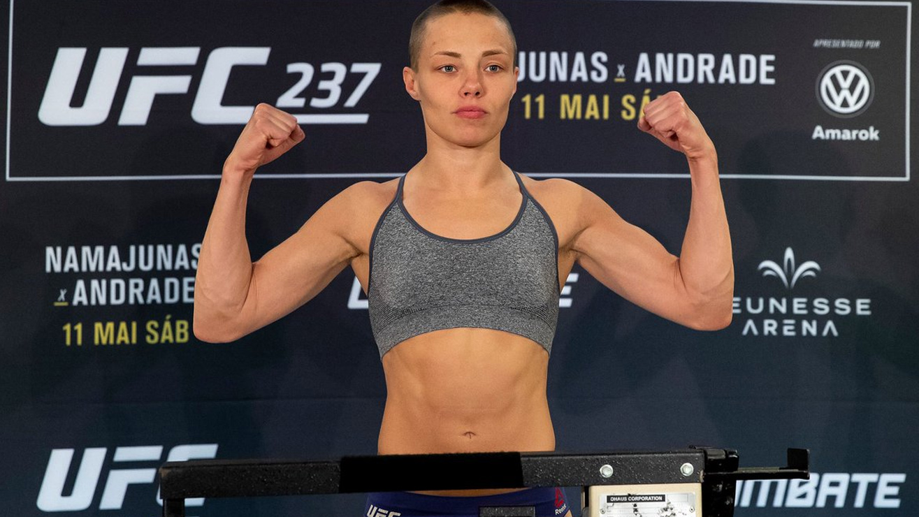 UFC News: Rose Namajunas hints getting slammed on her head could have helped set right prior neck fracture - Rose Namajunas