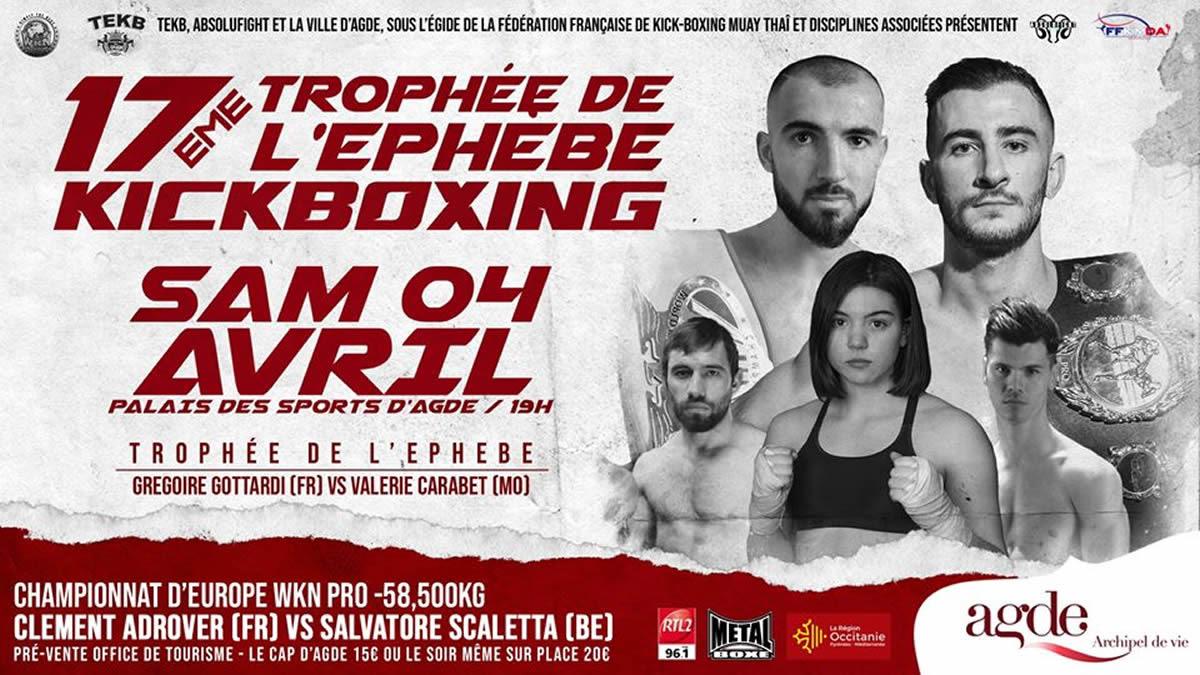 TEKB 17: Adrover vs. Scaletta for WKN European title in Agde -