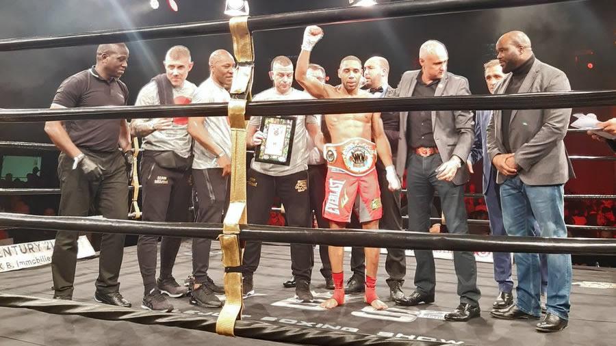 Yannick Reine, Bertrand Lambert and Amine Kebir 'Simply the Best' at Villejuif Boxing Show 2 -