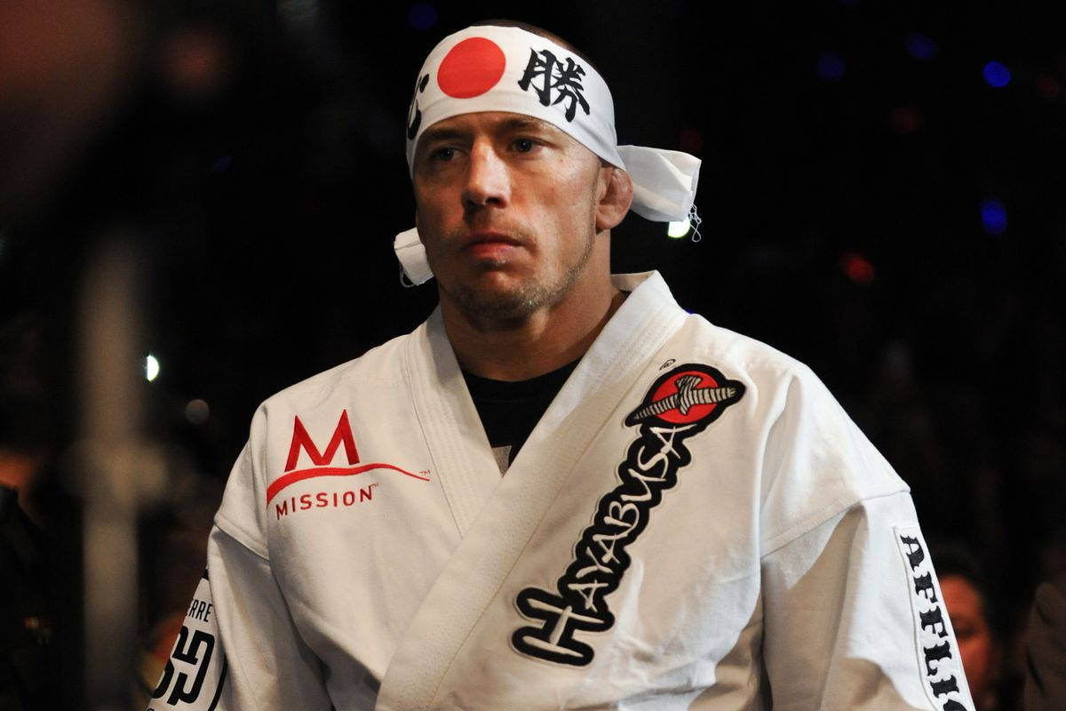 UFC News: GSP: 'I put on a mask before a fight that it's impossible for me to fail' - GSP