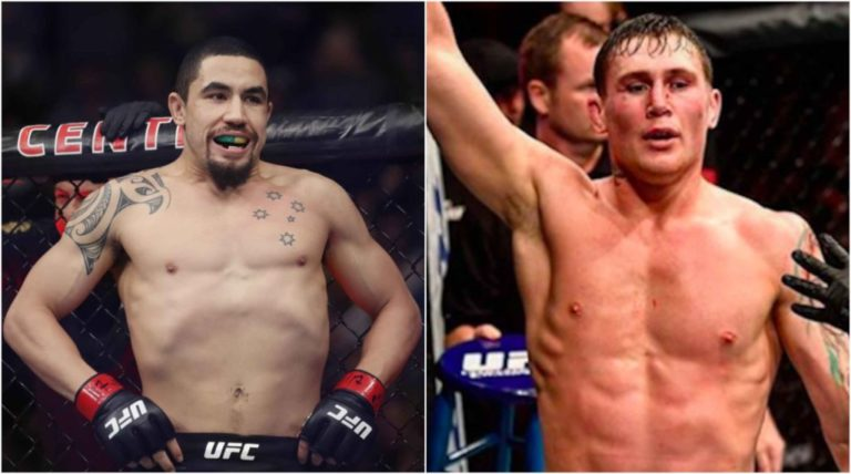 UFC News: Robert Whittaker calls out Darren Till for a 195 pound bout and the Gorilla accepts! - Darren Till