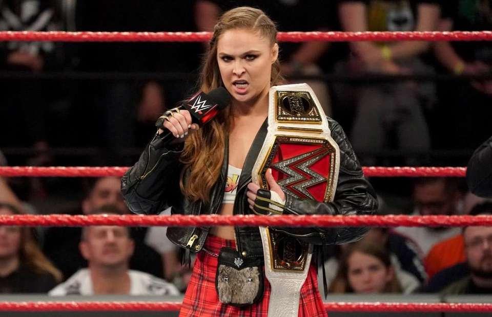 Ronda Rousey, WWE, UFC