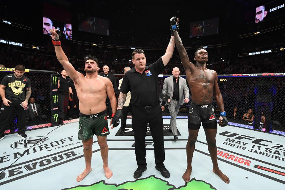 UFC News: Kelvin Gastelum looks back at Israel Adesanya barnburner one year on - Kelvin Gastelum
