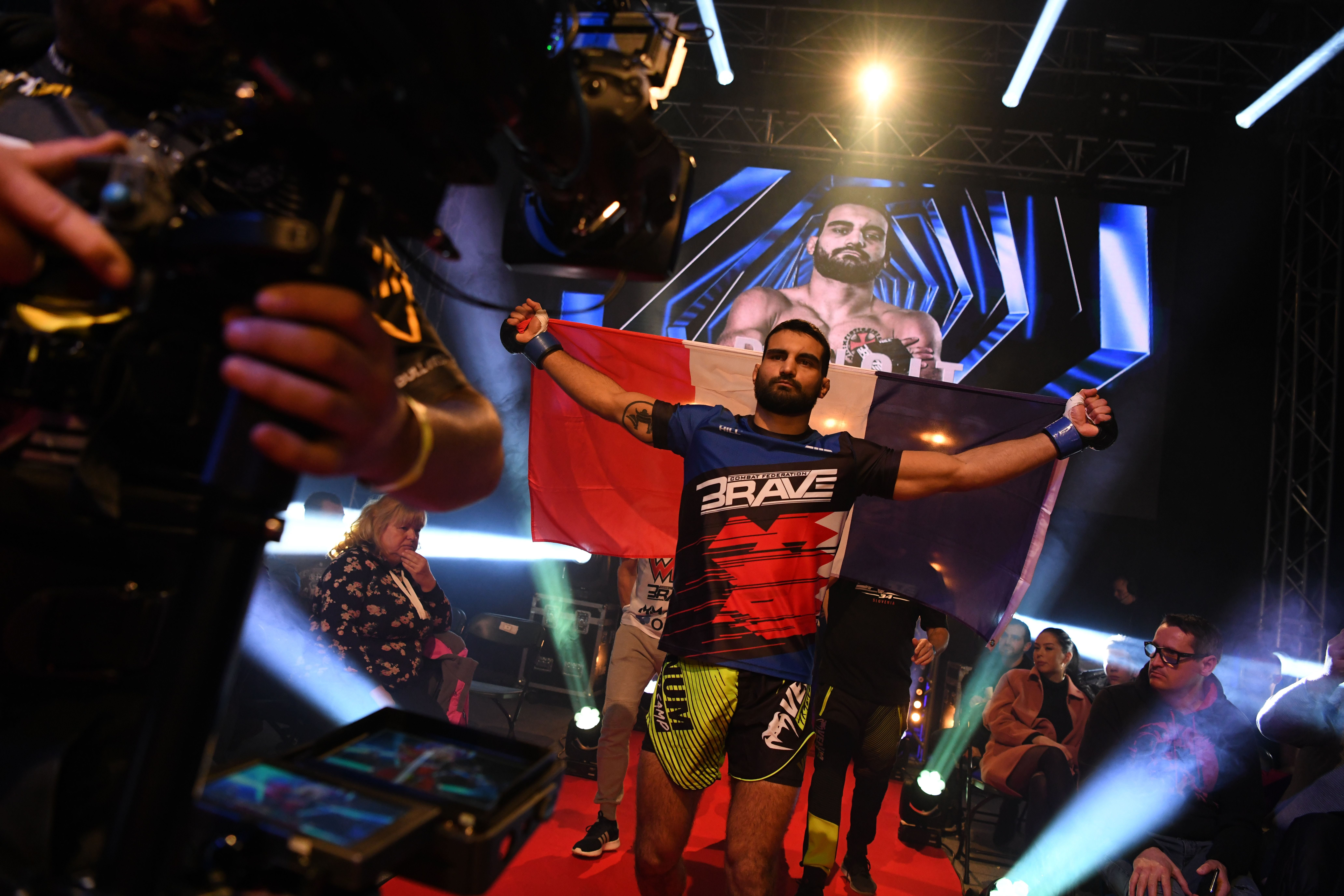 BRAVE CF's Benoit St. Denis special forces' background forged him to MMA -