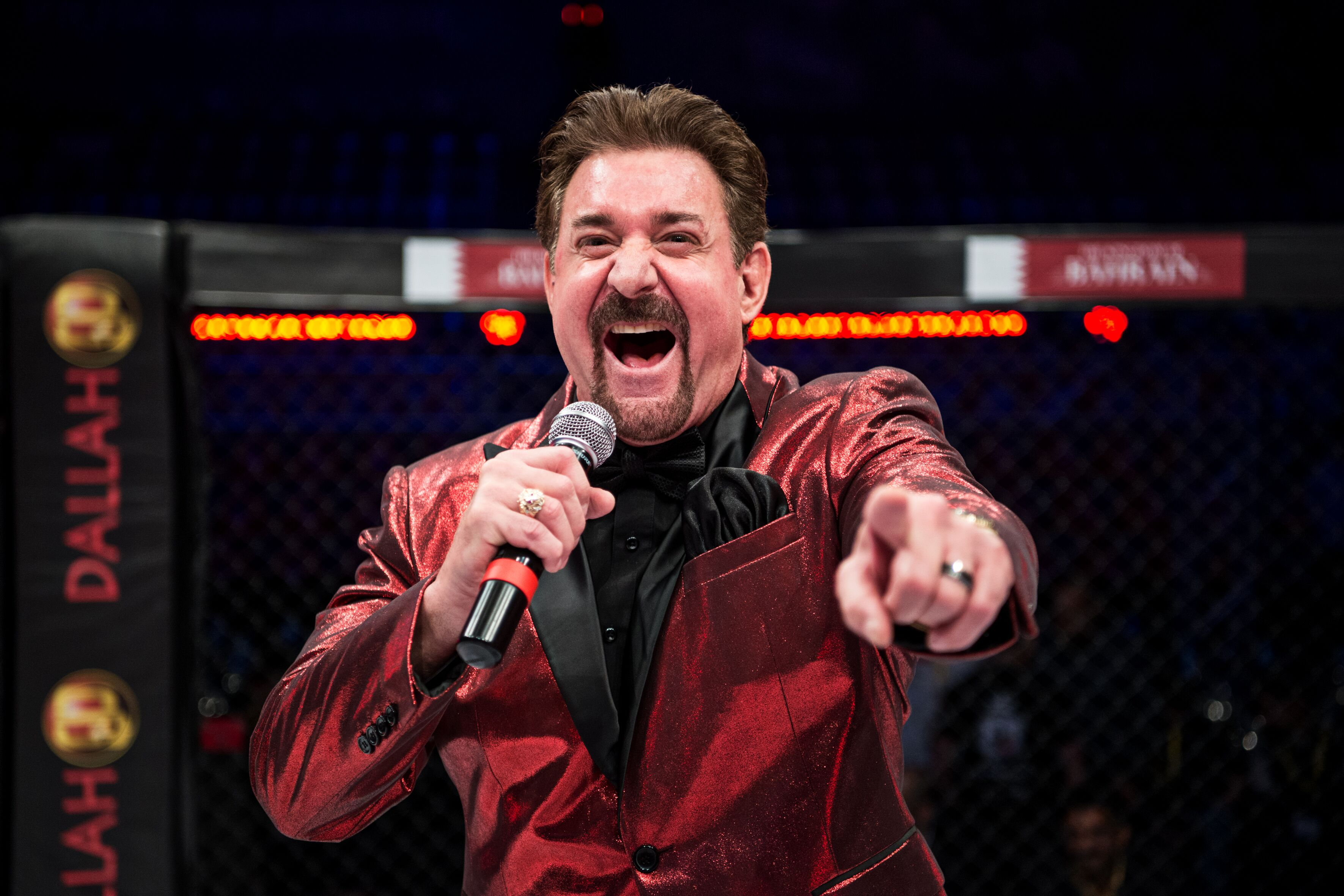 Voice of BRAVE CF Carlos Kremer hails organization's impact in the MMA world -