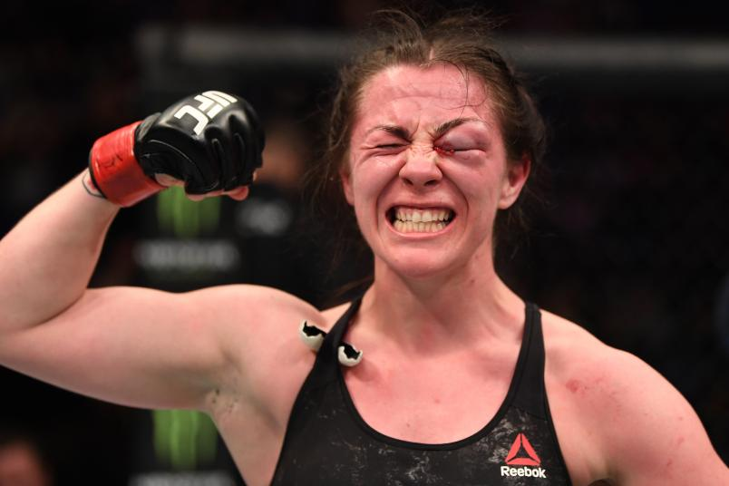 UFC News: Molly McCann reveals she stopped a date rape and helped police apprehend a sex trafficker - Molly McCann