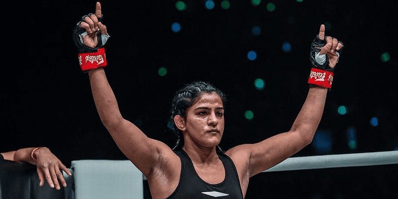 MMA India Exclusive: Ritu Phogat ready to fight ONE Atomweight Muay Thai Champion Stamp Fairtex! - Ritu Phogat