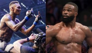 UFC News: Tyron Woodley targets the MW belt - and Isreal Adesanya replies! - Woodley
