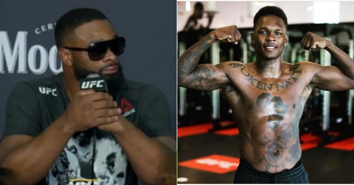 UFC News: Tyron Woodley unloads on Israel Adesanya: I want to knock his block off! - Tyron Woodley