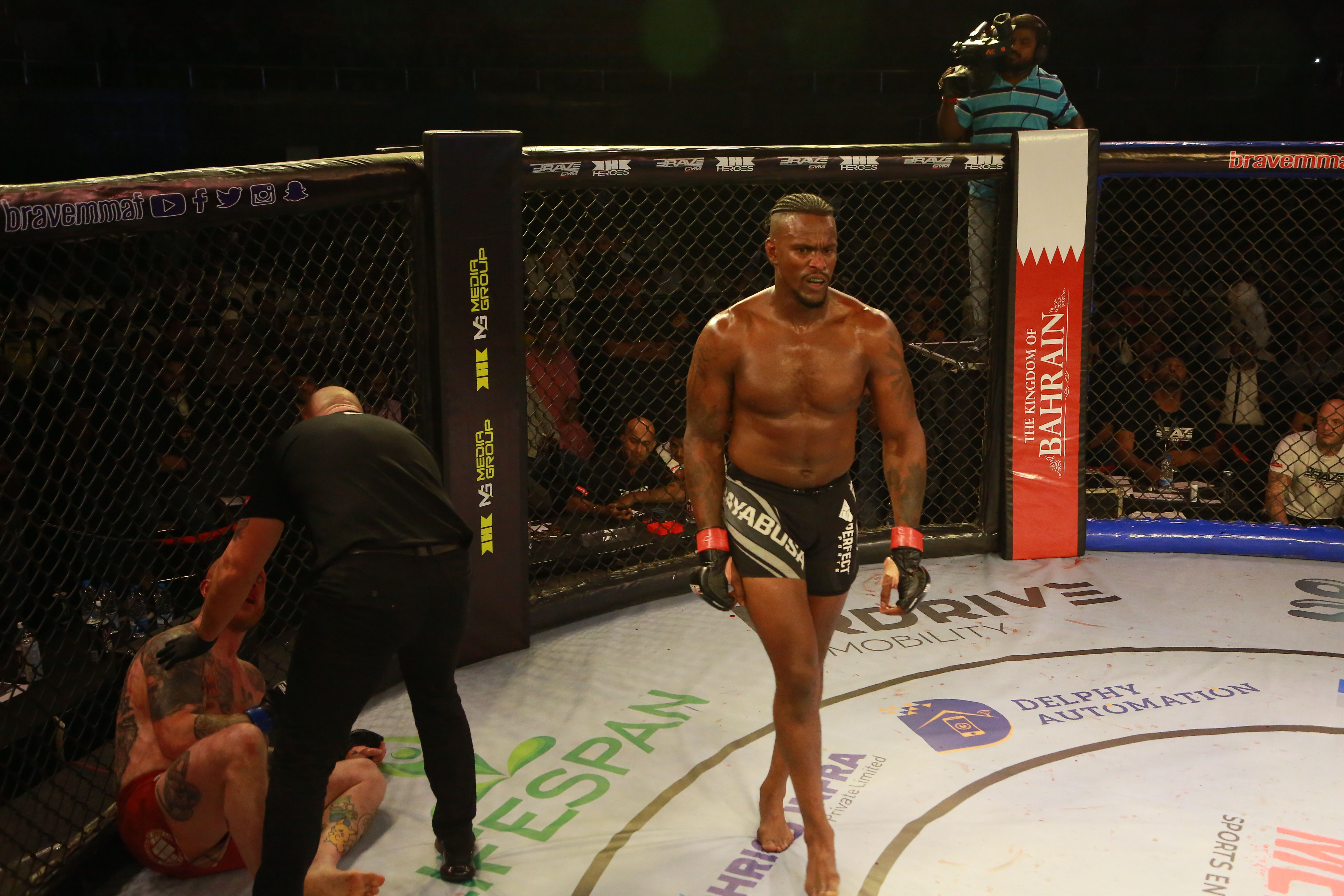 """Todd Stoute """"proud"""" to fight for BRAVE CF, would """"love"""" bout against Fakhreddine -"""
