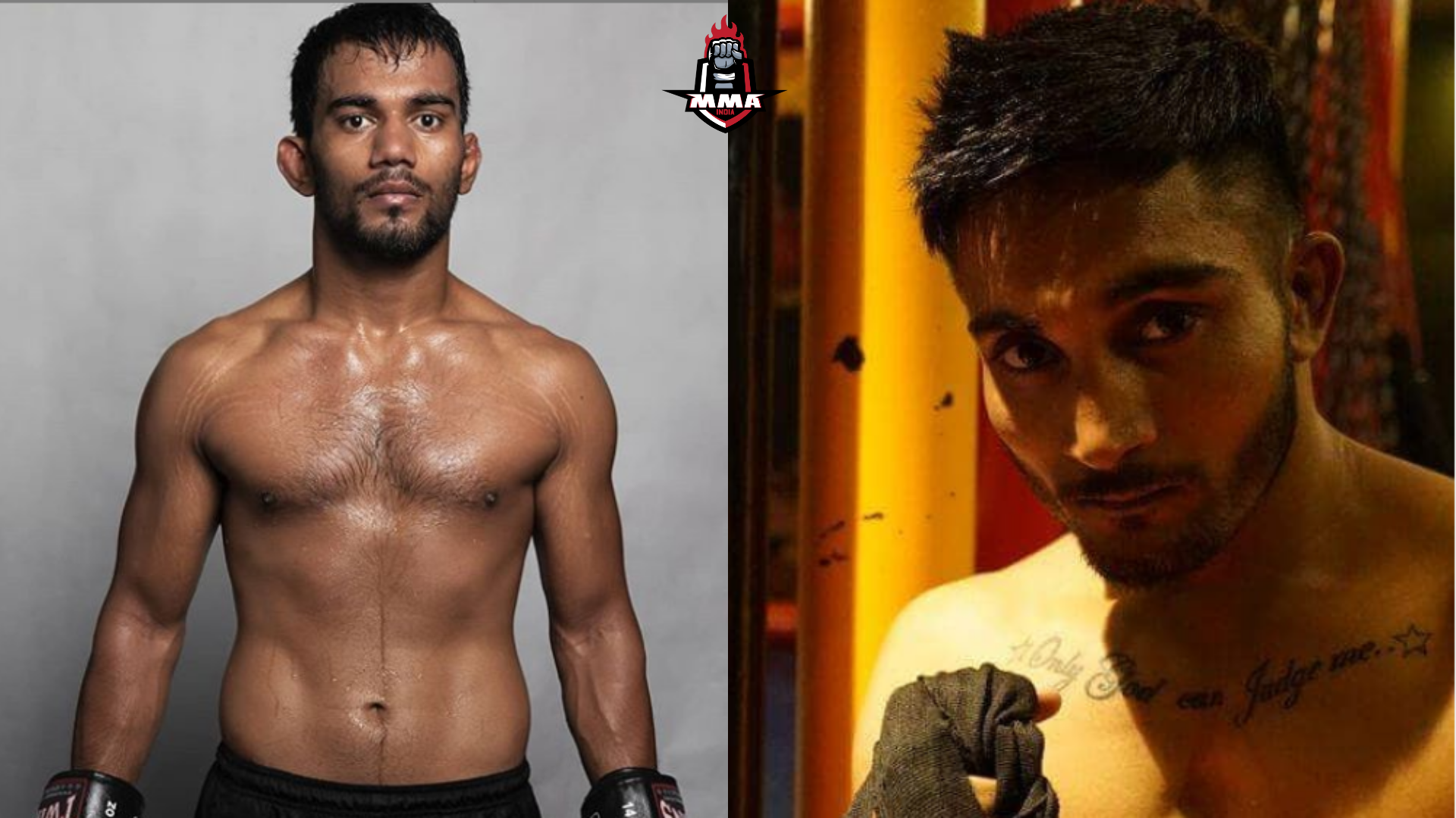MENA FIGHTER ASSAD AL HANINI ALONG SIDE INDIAN ATHLETES SATYA BEHURIA AND SARABJIT SINGH.UNITE TO SUPPORT HIS HIGHNESS SHAIKH KHALED AND BRAVE CF'S CAMPAIGN AGAINST CORONAVIRUS -