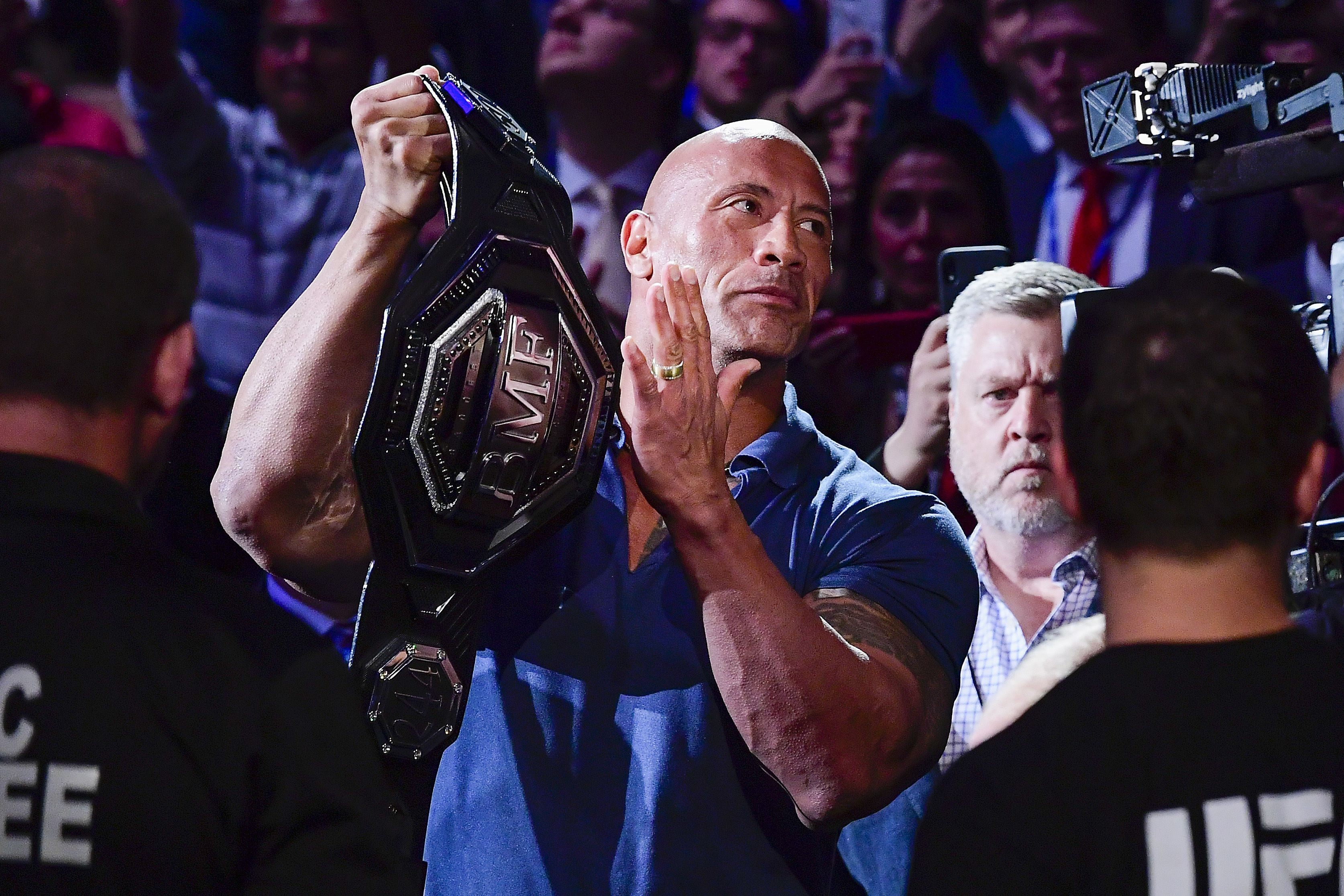 UFC News: Read which UFC fighter the Rock just referred to as a 'dominant beast of a man!' - The Rock
