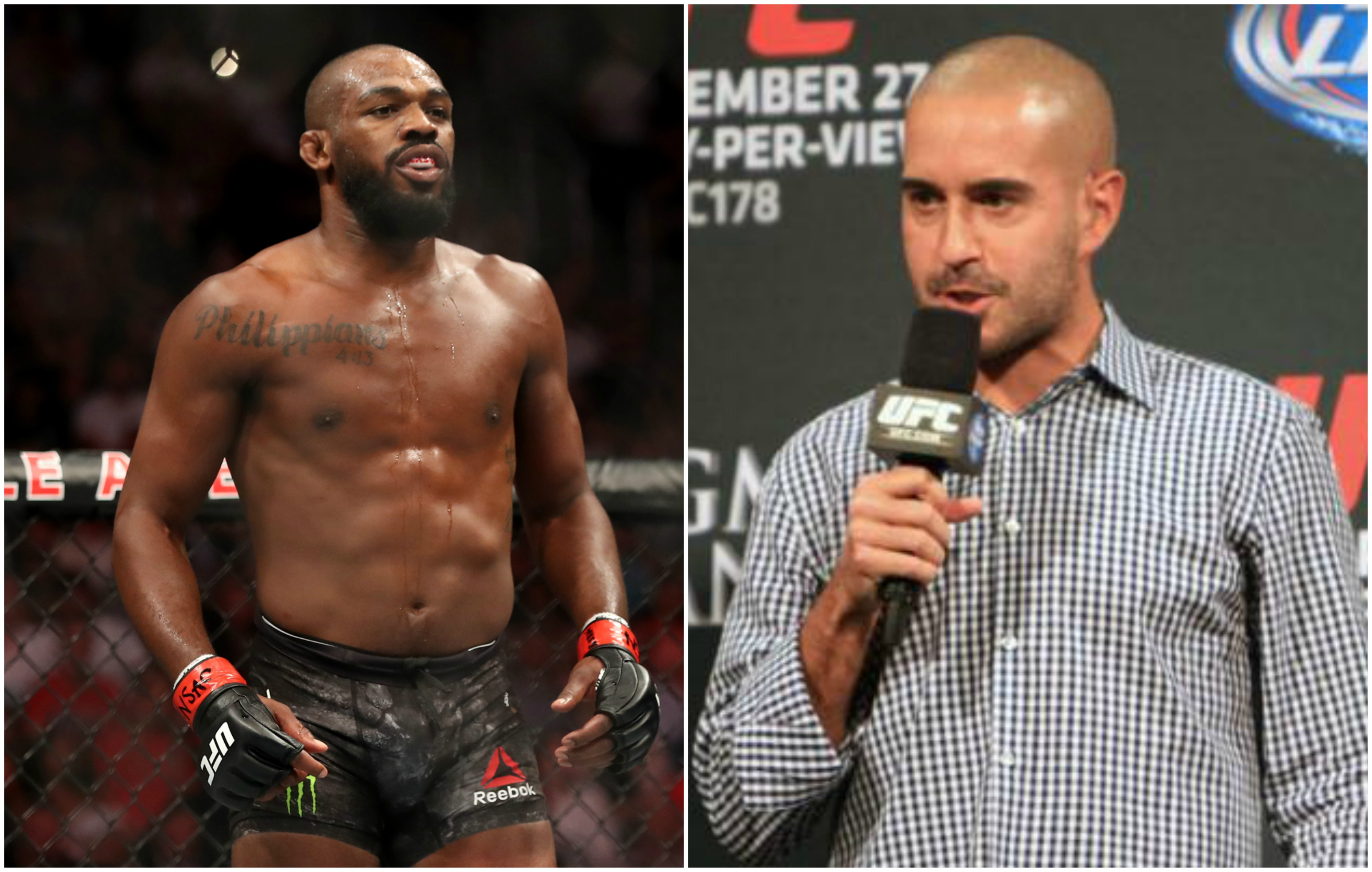 UFC News: Jon Anik on Jon Jones' arrest: 'His daughters must be embarrassed' - Jon Anik