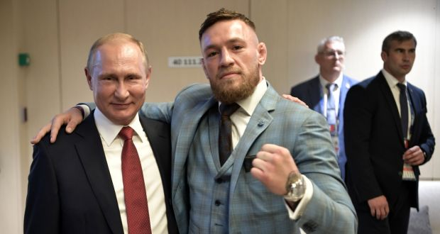 UFC News: Bookies are taking bets for Conor McGregor becoming the next president of Ireland! - Conor McGregor