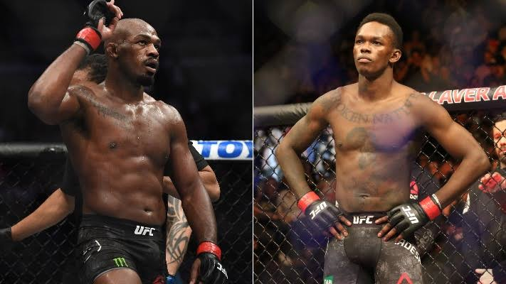 Jon Jones and Israel Adesanya! - MMA INDIA