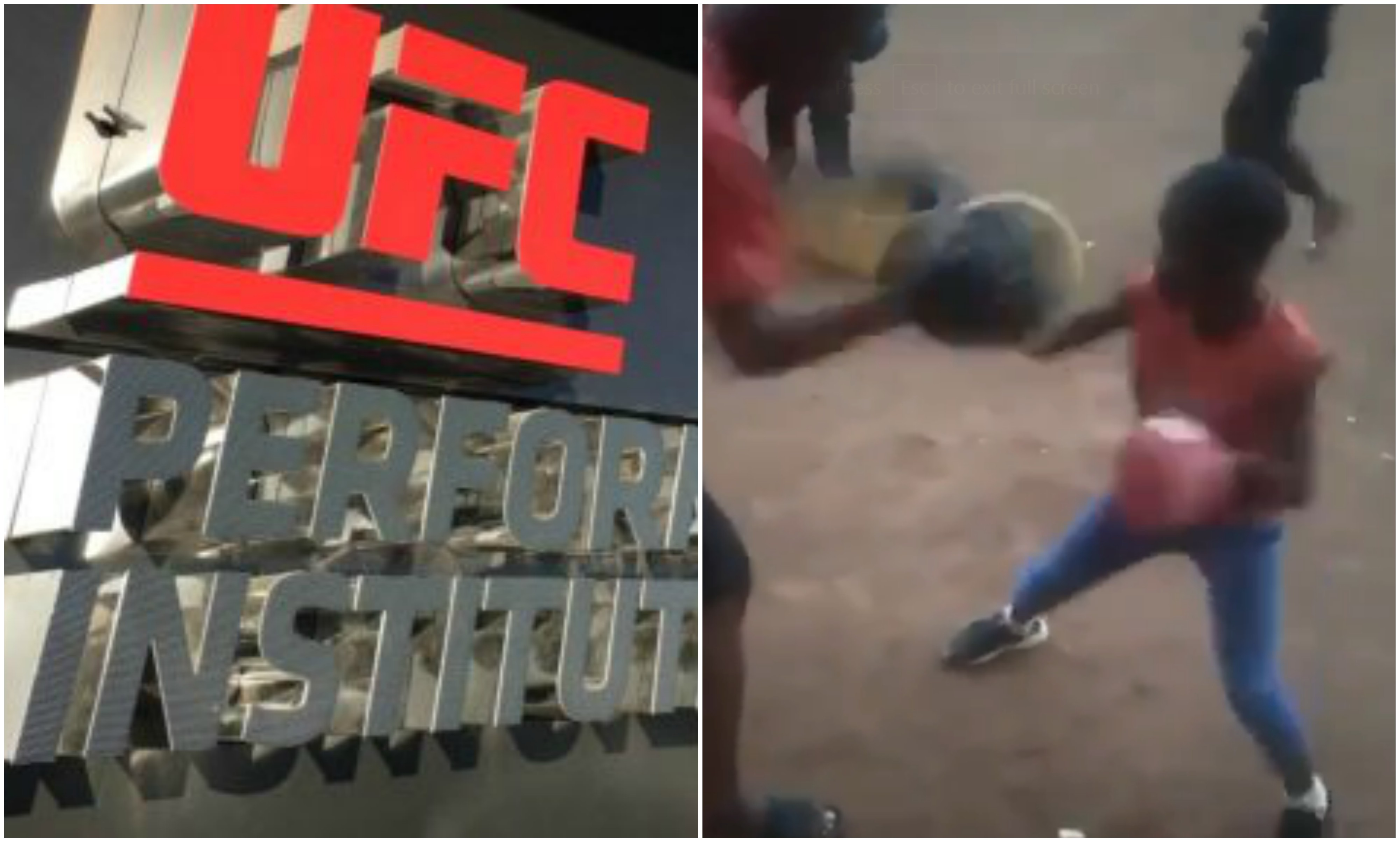UFC News: Video of young African kid hitting pads makes Dana White propose a UFC PI in Africa! - Dana White