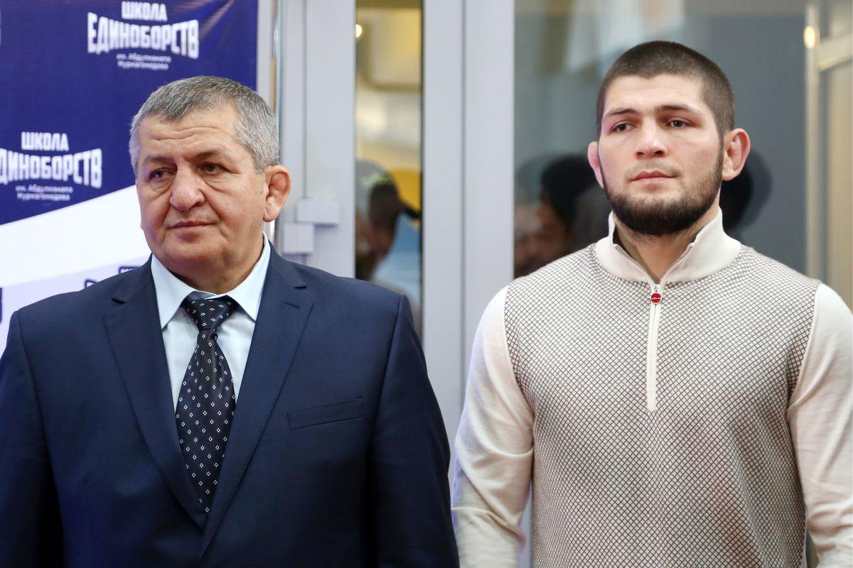 UFC News: New details emerge as Khabib's father confirmed to have COVID-19 - Khabib Nurmagomedov