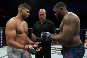 Walt Harris and Alistair Overeem
