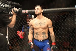 UFC News: Cub Swanson teases going up 40 pounds to fight at MW this weekend! - Swanson