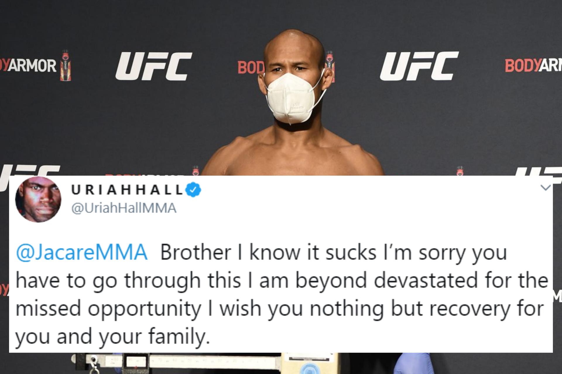 Twitter loses its mind as UFC 249 proceeds despite Jacare Souza testing Covid-19 positive - Jacare Souza