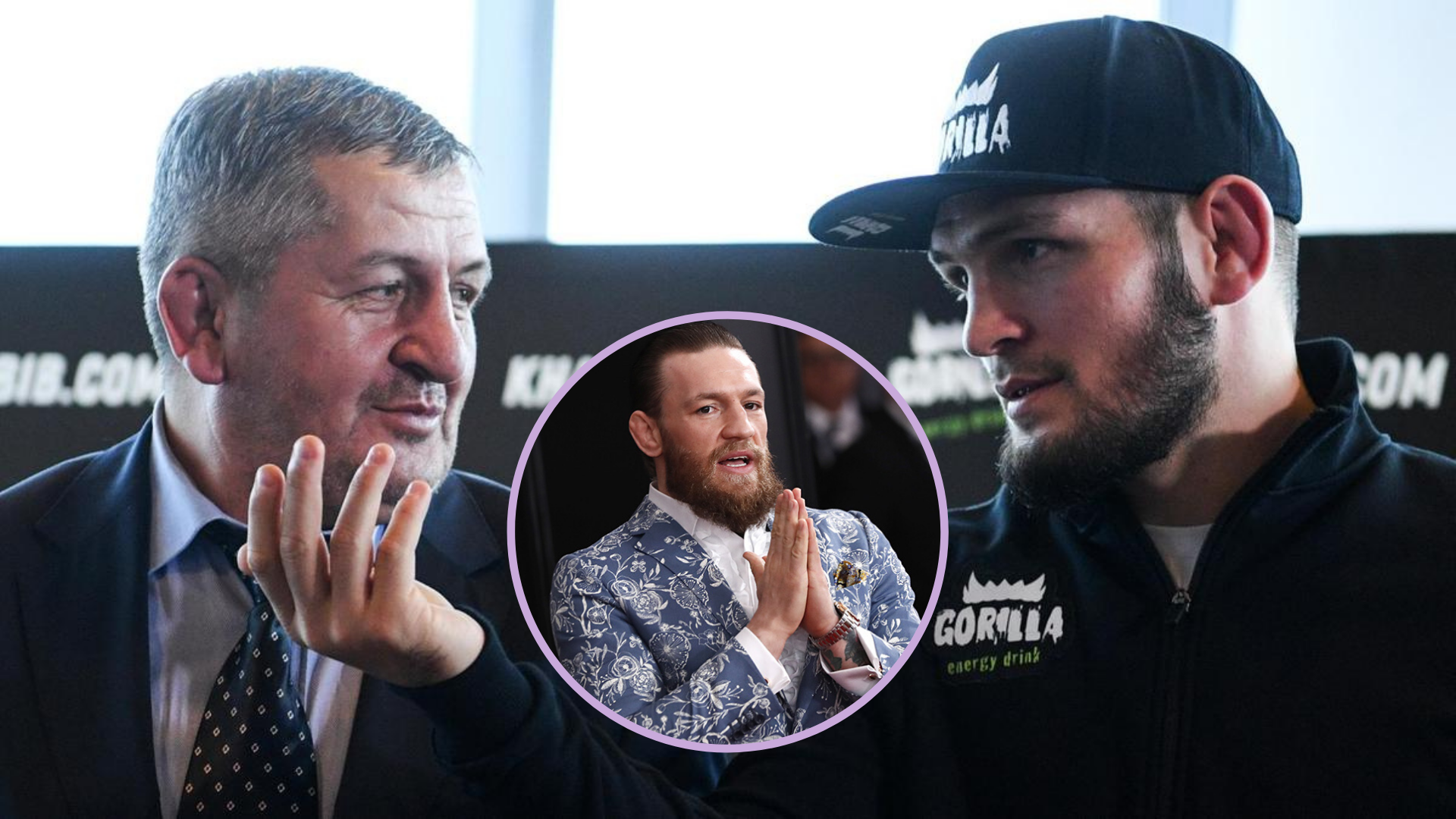 Twitter reacts to classy Conor McGregor wishing Khabib's father a speedy recovery - Conor McGregor