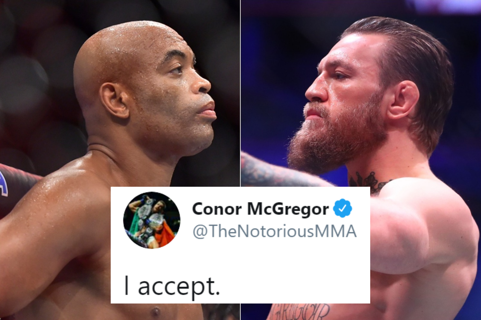 Conor McGregor 'accepts' catchweight superfight against Anderson Silva - Conor McGregor