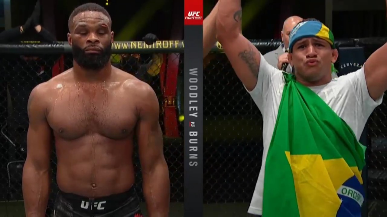 UFC Fight Night: Woodley vs Burns: Main Card results, play by play, highlights - UFC