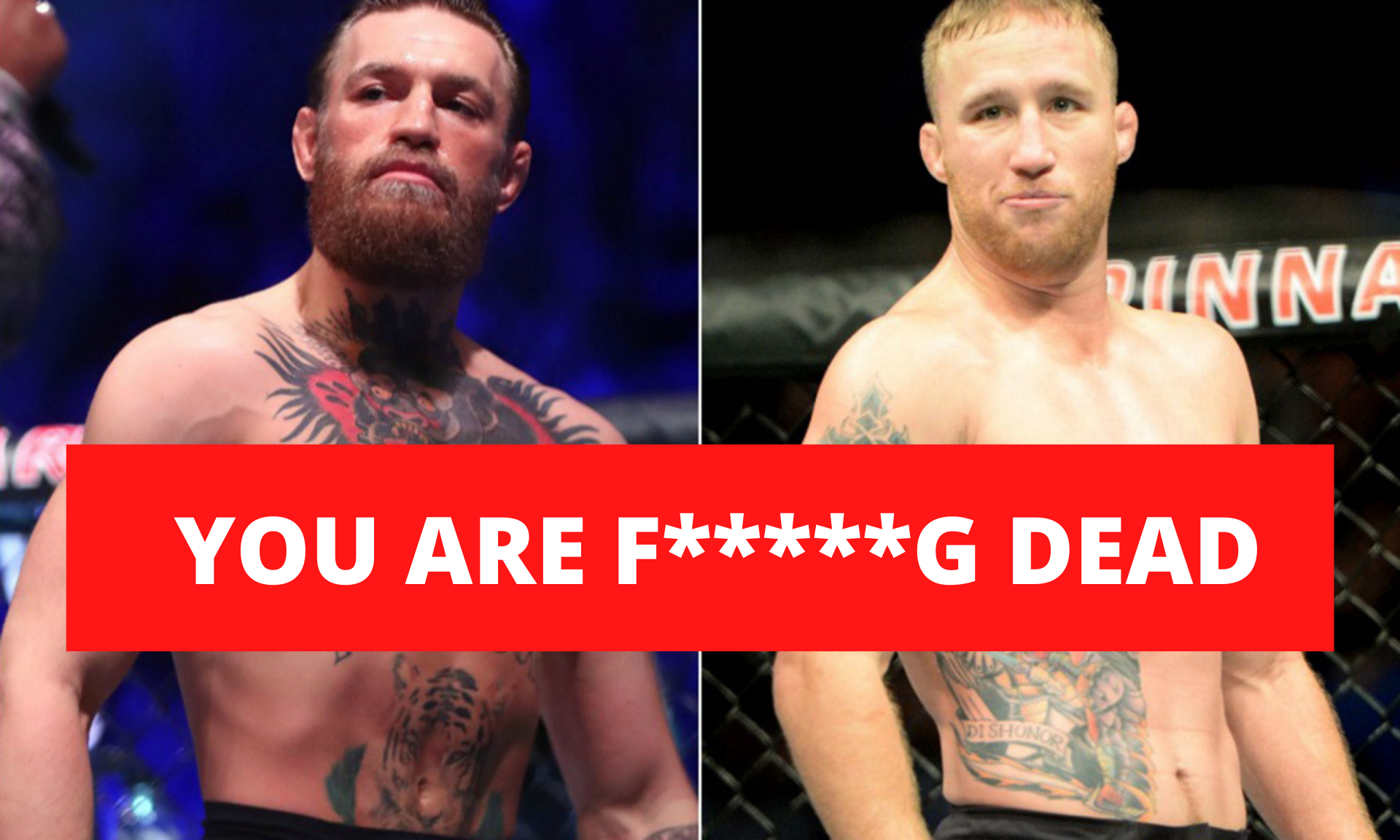 UFC News: Conor McGregor sends heavy warning to Justin Gaethje: 'You are f***ing dead!' - Conor McGregor