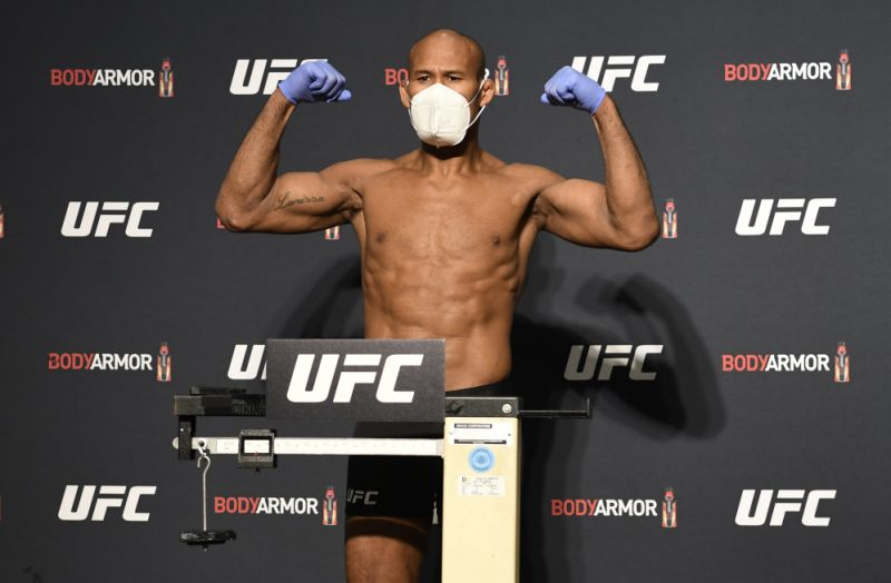 Reason why UFC 249 is going on as planned despite Jacare's positive Covid-19 test - Jacare Souza