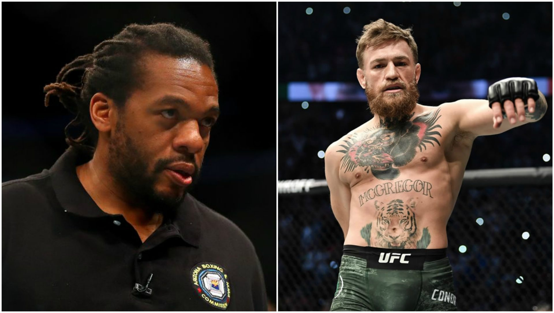 MMA India Exclusive: Herb Dean reveals Conor McGregor is hardest hitting lighter weight fighter he's refereed! - Herb Dean