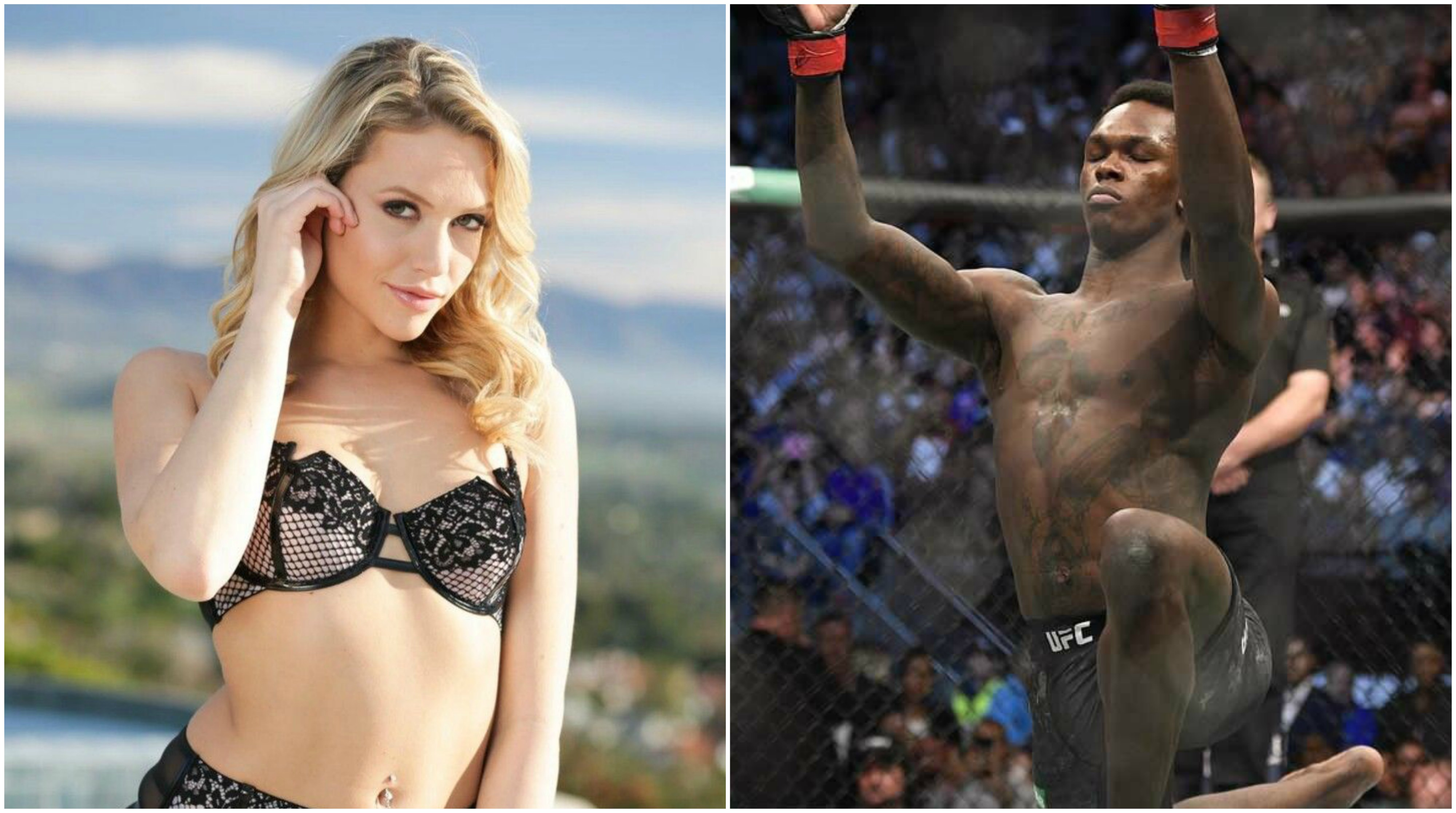 UFC News: Middleweight champion Israel Adesanya names his favourite adult performers! - Israel Adesanya